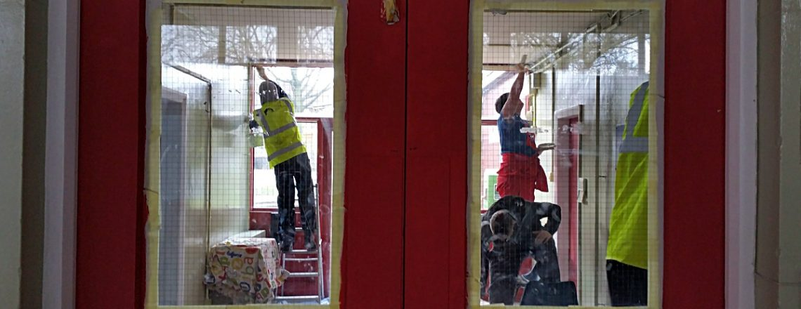 Prince's Trust redecoration of the hall – latest