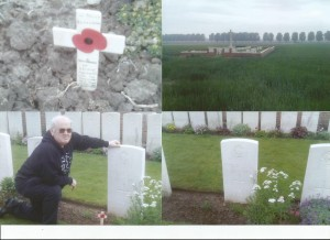 Battlefield visit for centenary