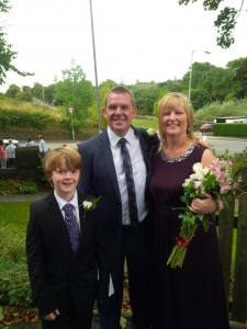 Adam and Julie Butterworth with Rohan